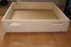 Ящик для белья под кровать своими руками 78